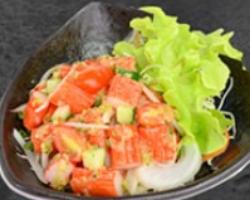 Salmon Crunchi Salad