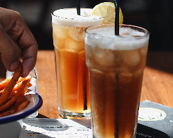 Homemade Iced Tea - Peach