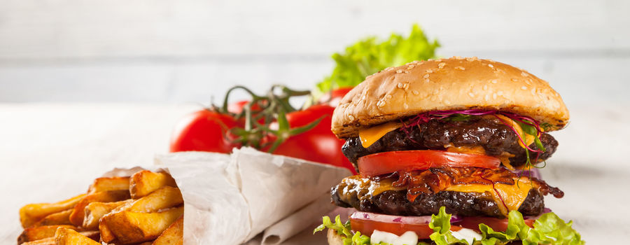 Meet hamburger gurmet