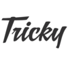 Tricky logo foodracers