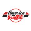 Logo america graffiti restyling bianco