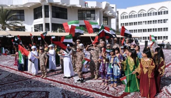 """""""خليفة الإنسانية وتدوير وأبوظبي للجودة"""" تحتفل بيوم الإمارات الوطني الـ 47"""