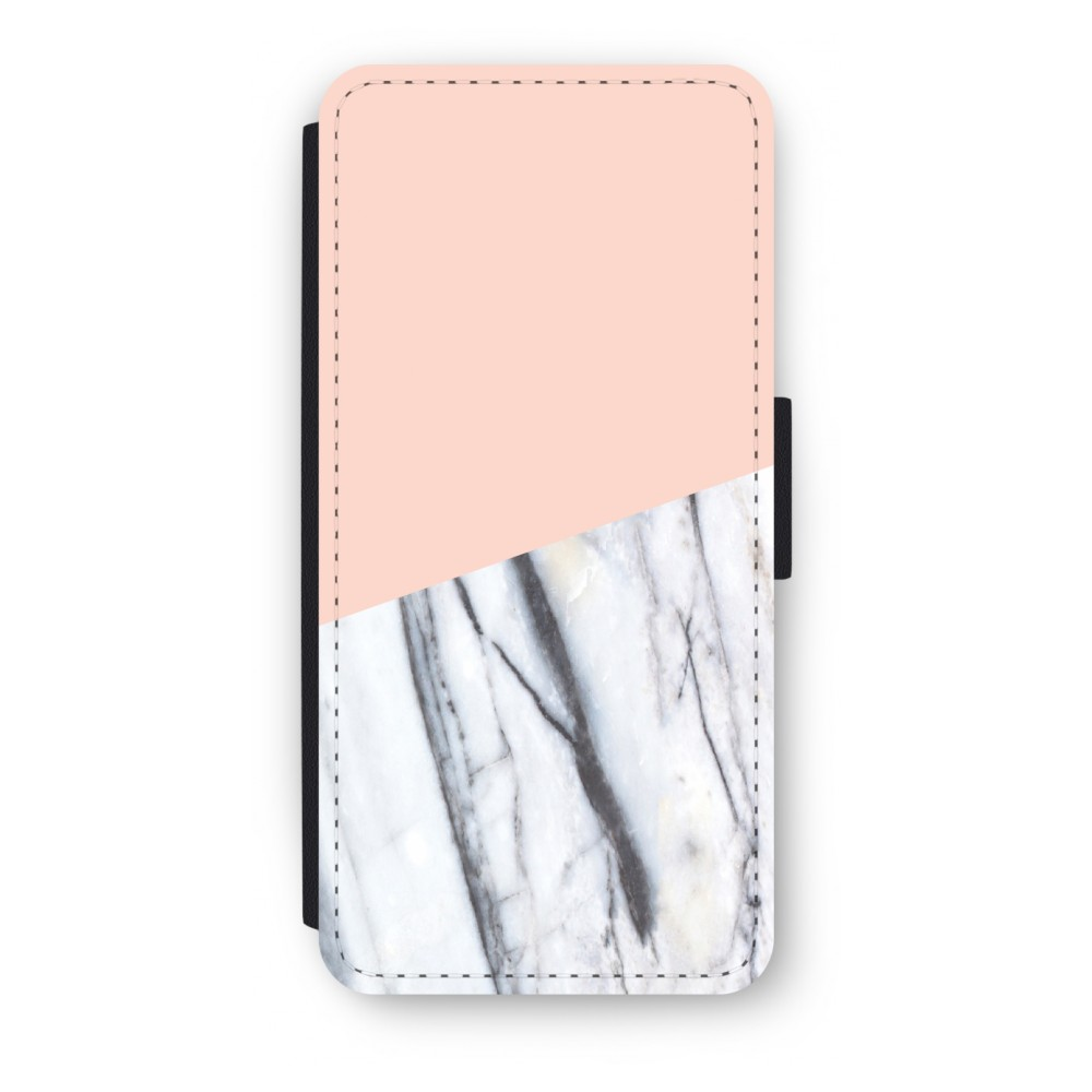 iPhone 5/5s/SE Flip Hoesje - A touch of peach