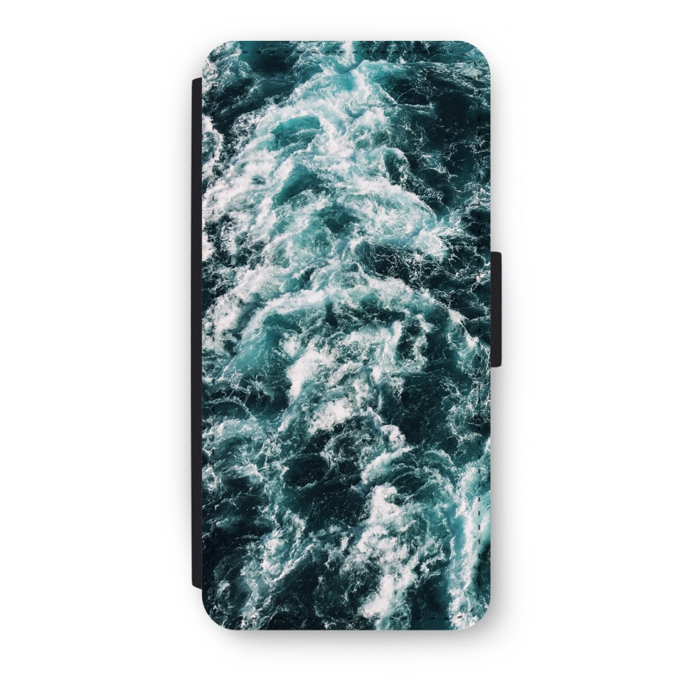 iPhone 5/5s/SE Flip Hoesje - Zee golf
