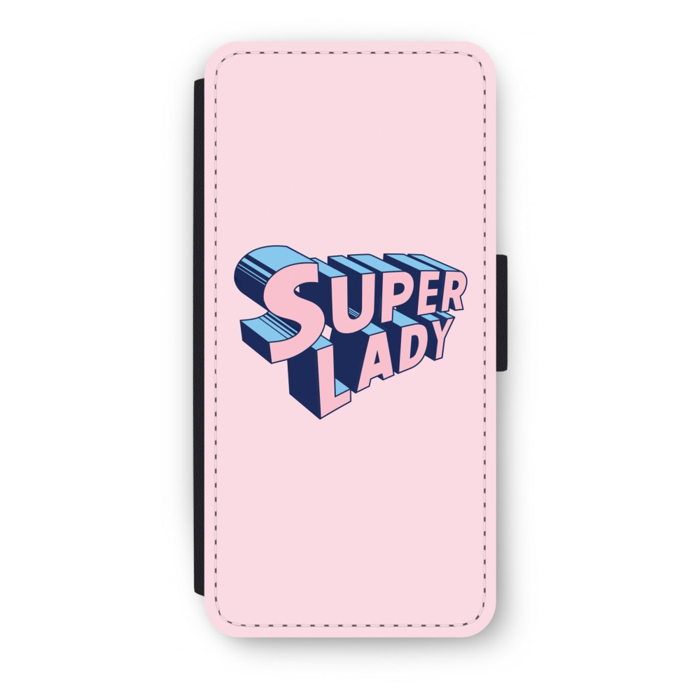 iPhone 5/5s/SE Flip Hoesje - Superlady