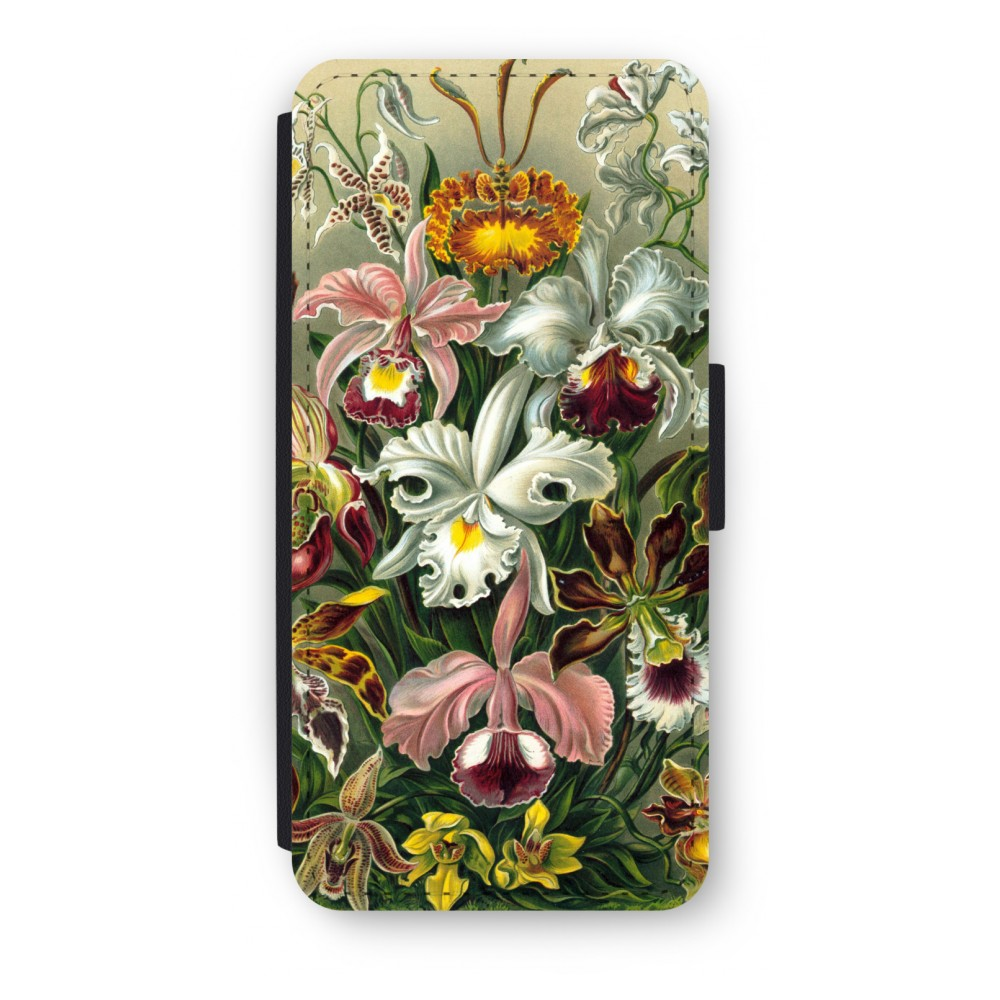 iPhone 5/5s/SE Flip Hoesje - Haeckel Orchidae