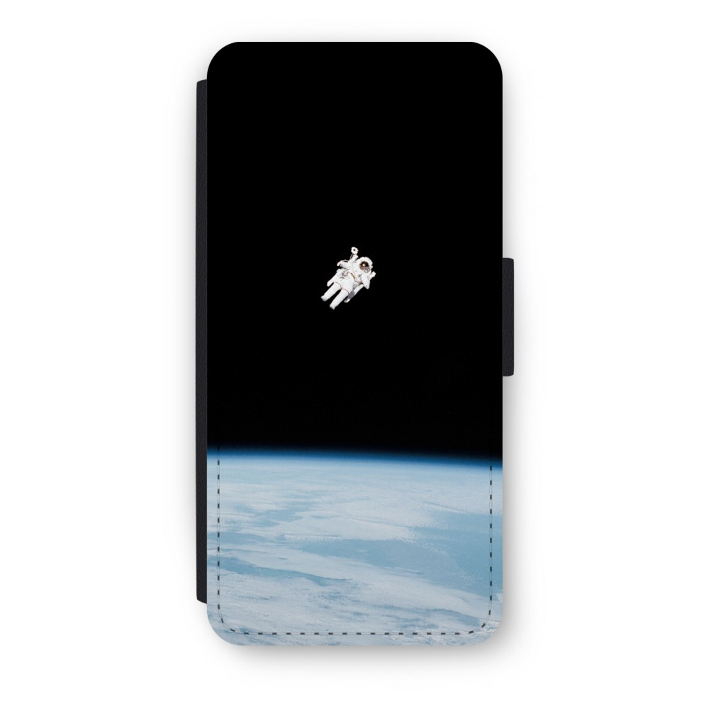 iPhone 5/5s/SE Flip Hoesje - Alone in Space