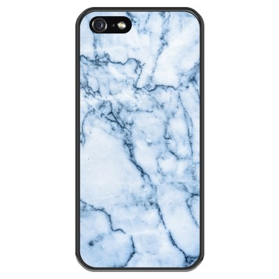 Blauwe marmer