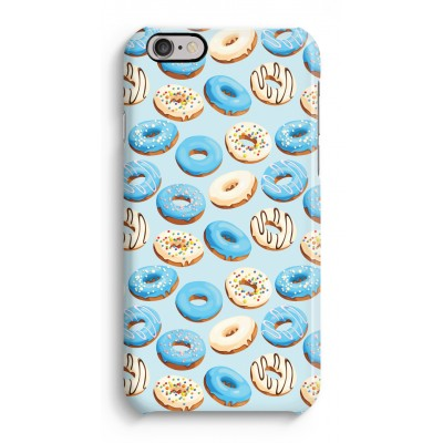 Blue donuts