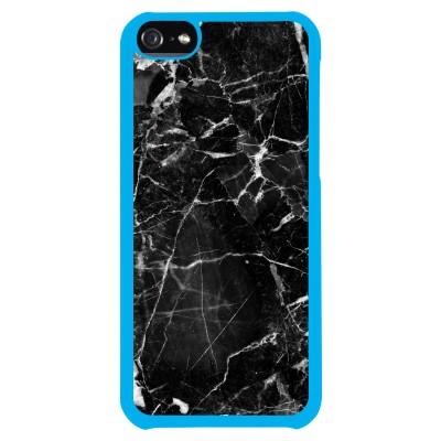Black broken marble