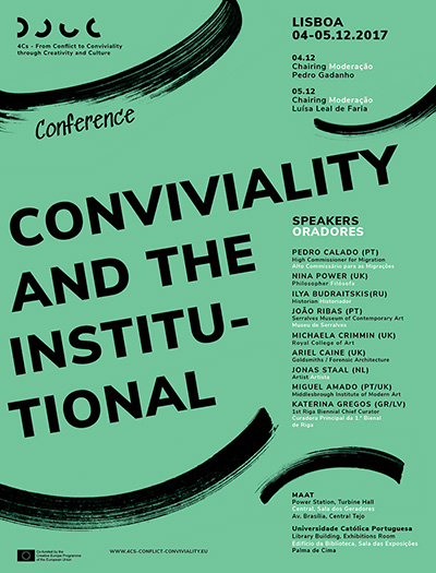 Conference Conviviality and the Institutional