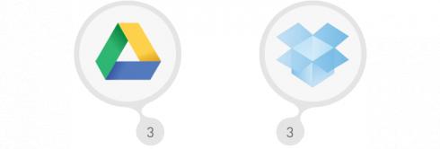 Google Disk a Dropbox
