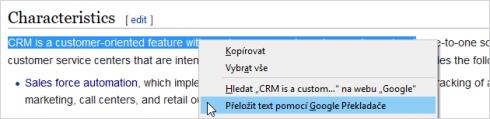 Google Translator for Firefox