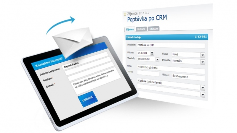Propojte si webový formulář se svým RAYNET CRM!