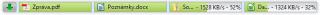 Download Status Bar