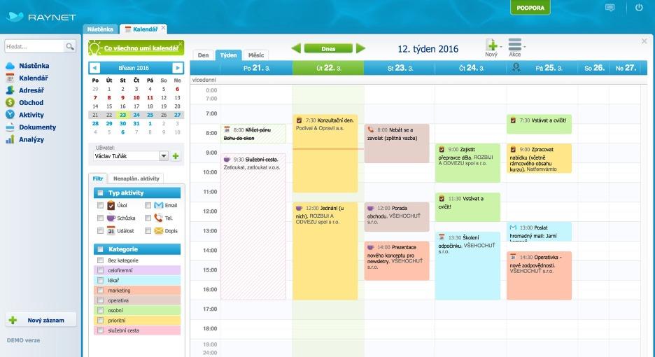 Aktivity - Nechte si pomoct s každodenní rutinou