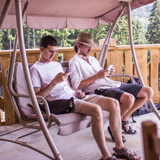 Schod a Máša si užívají dovolenou :)
