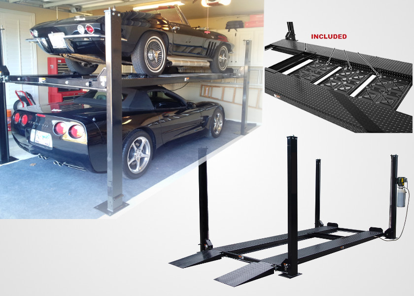 Portable car lifts ideal for home garage 2017 fit stop Lift for home garage