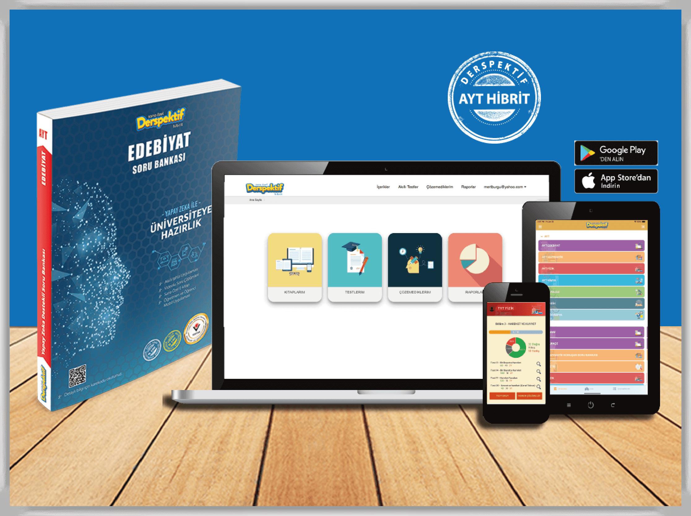 YKS, AYT Edebiyat Video Çözümlü Soru Bankası