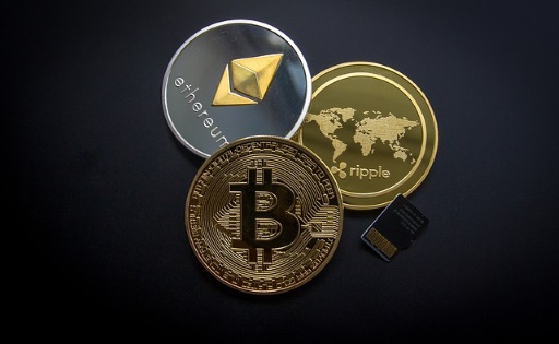 Ripple, ether, and bitcoin
