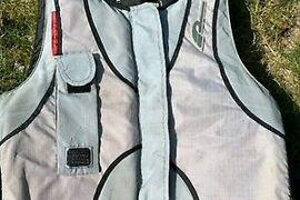 Pro Limit Prallschutzweste Stretch Vest XF FZ grey//orange 2020
