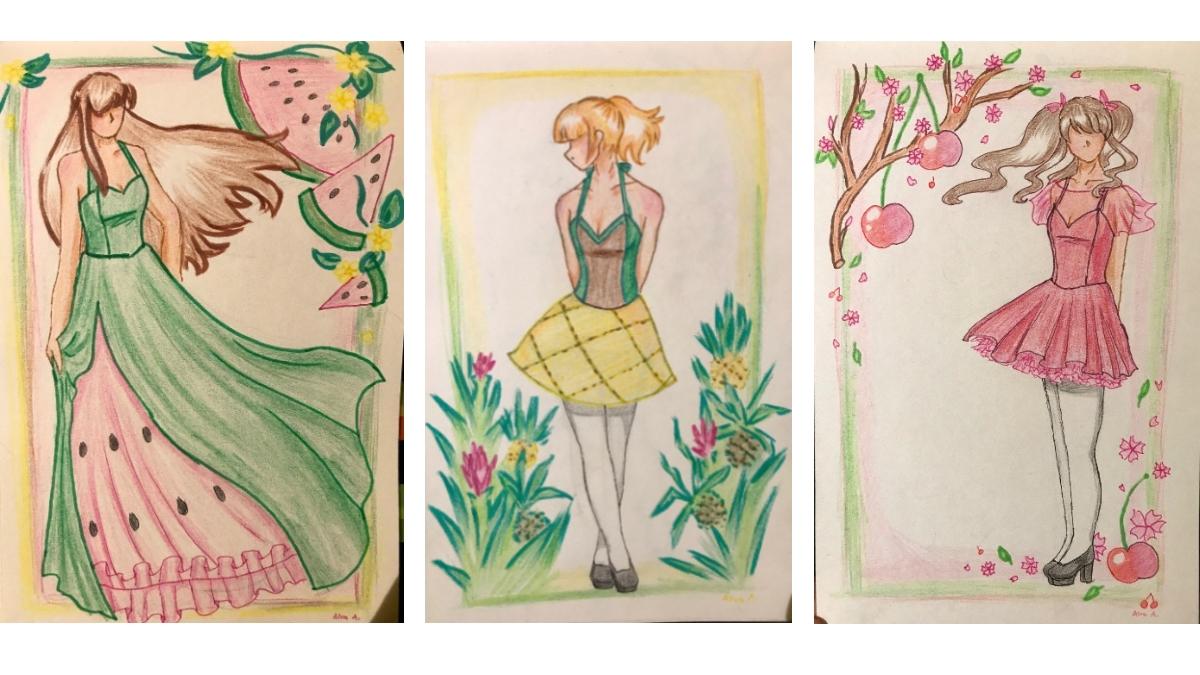 Utställning: Kan en klänning kännas som en frukt