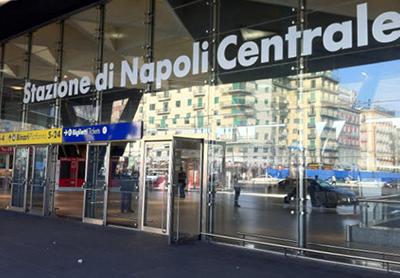 Naples Stazione Centrale Train Station