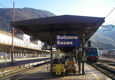 Bolzano Train Station