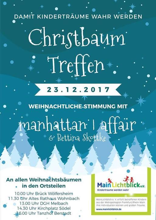 Christbaumsingen