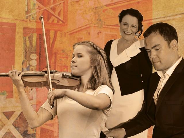 Trio Kati Huvi, Krister Ojanen ja Matleena Kinnanen
