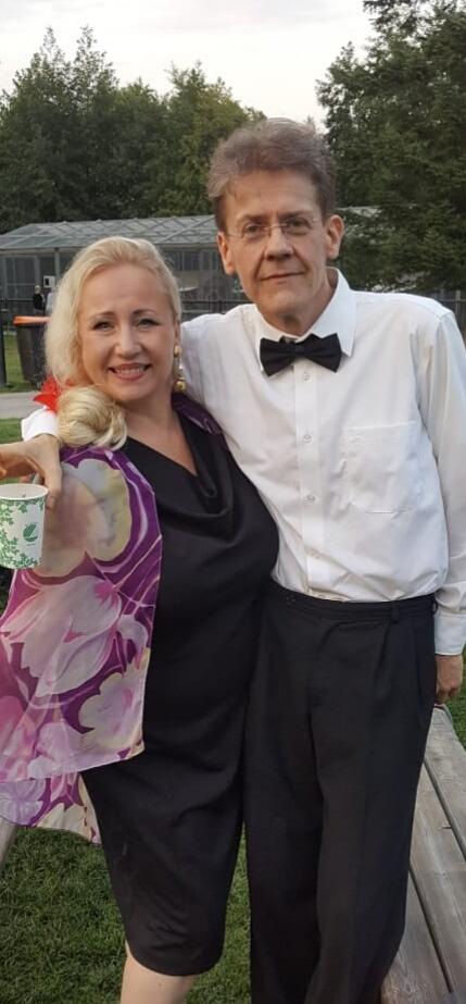 Sopraano Mari Vuorijärvi ja pianisti Antti Terävä