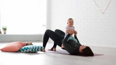 Äiti-vauvapilates etätunti
