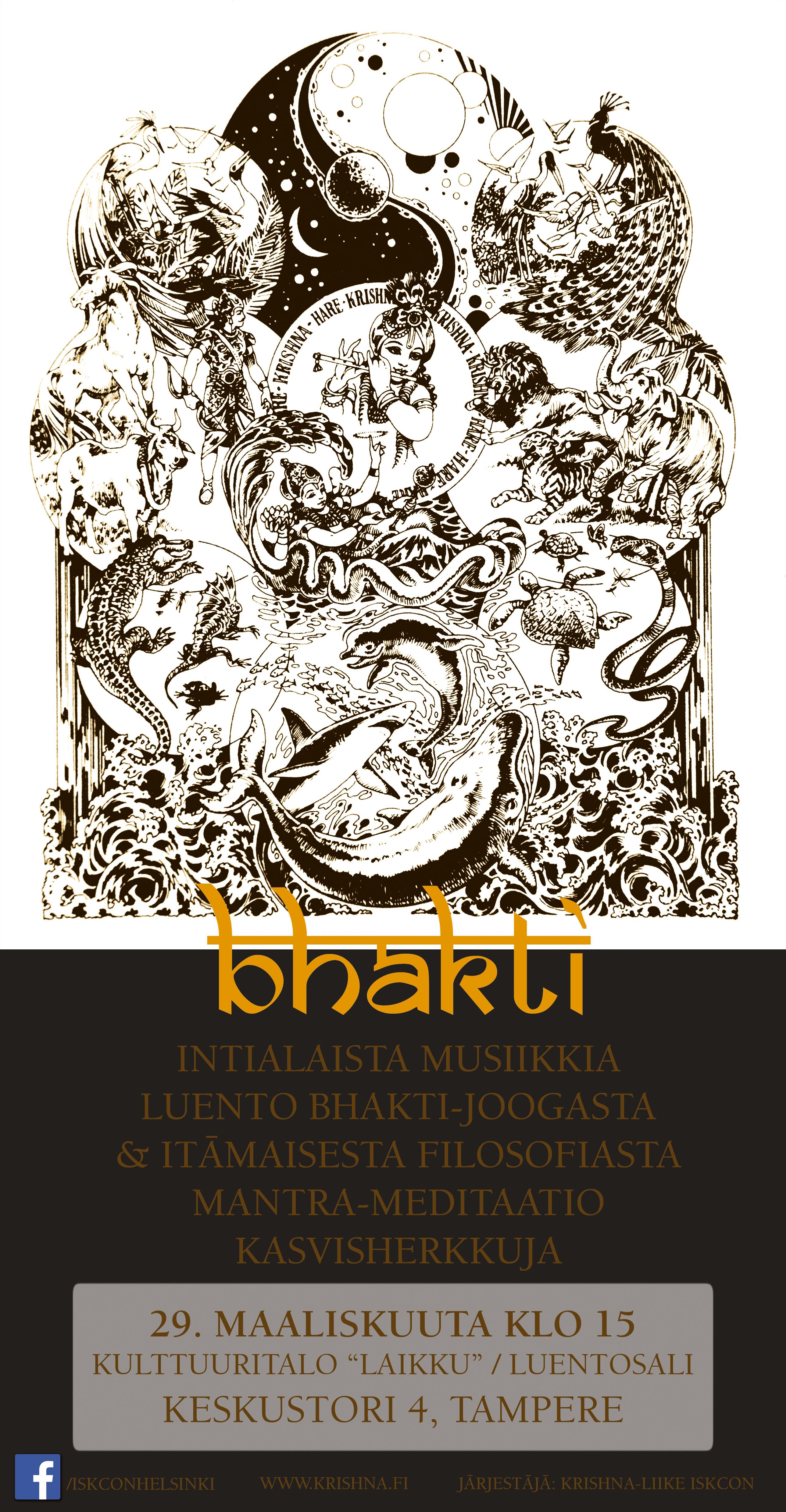 Bhakti-ilta Tampere