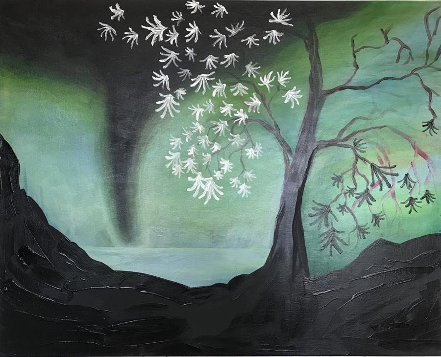 Mari Suson näyttely Maita ja maisemia