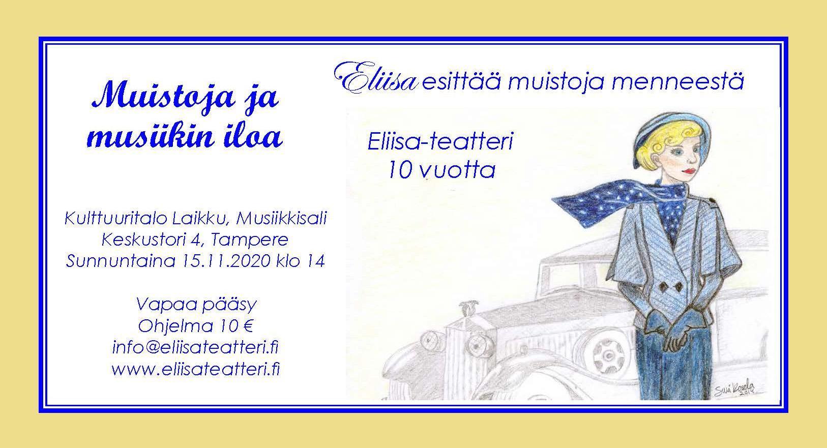Muistoja ja musiikin iloa