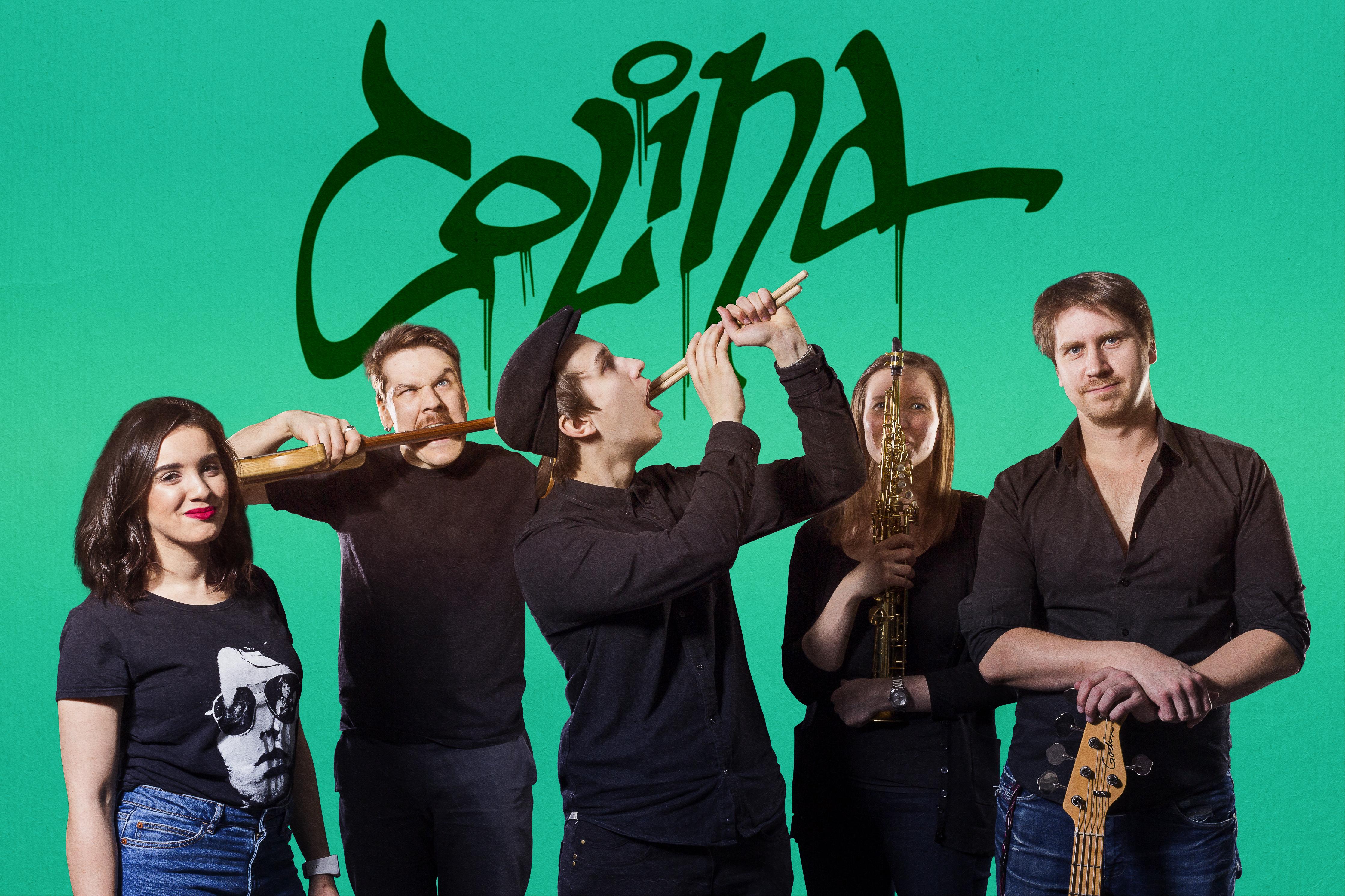 Colina Jazz Band Kulttuuritalo Laikussa
