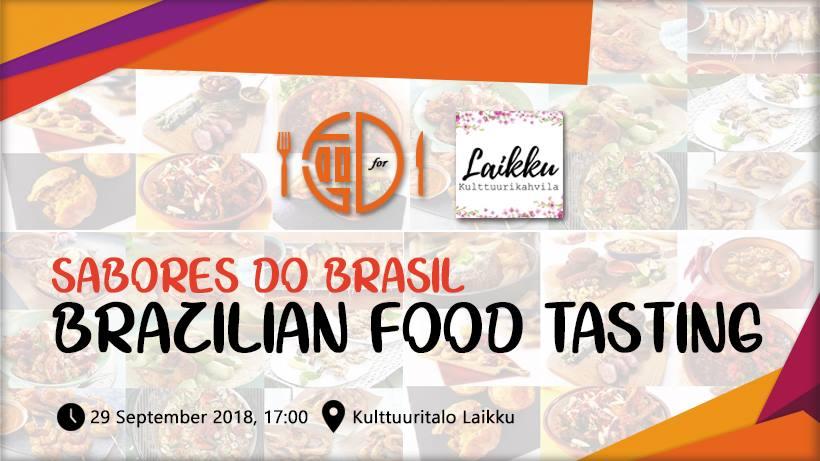 Brazilialaisen ruoan maisteluilta