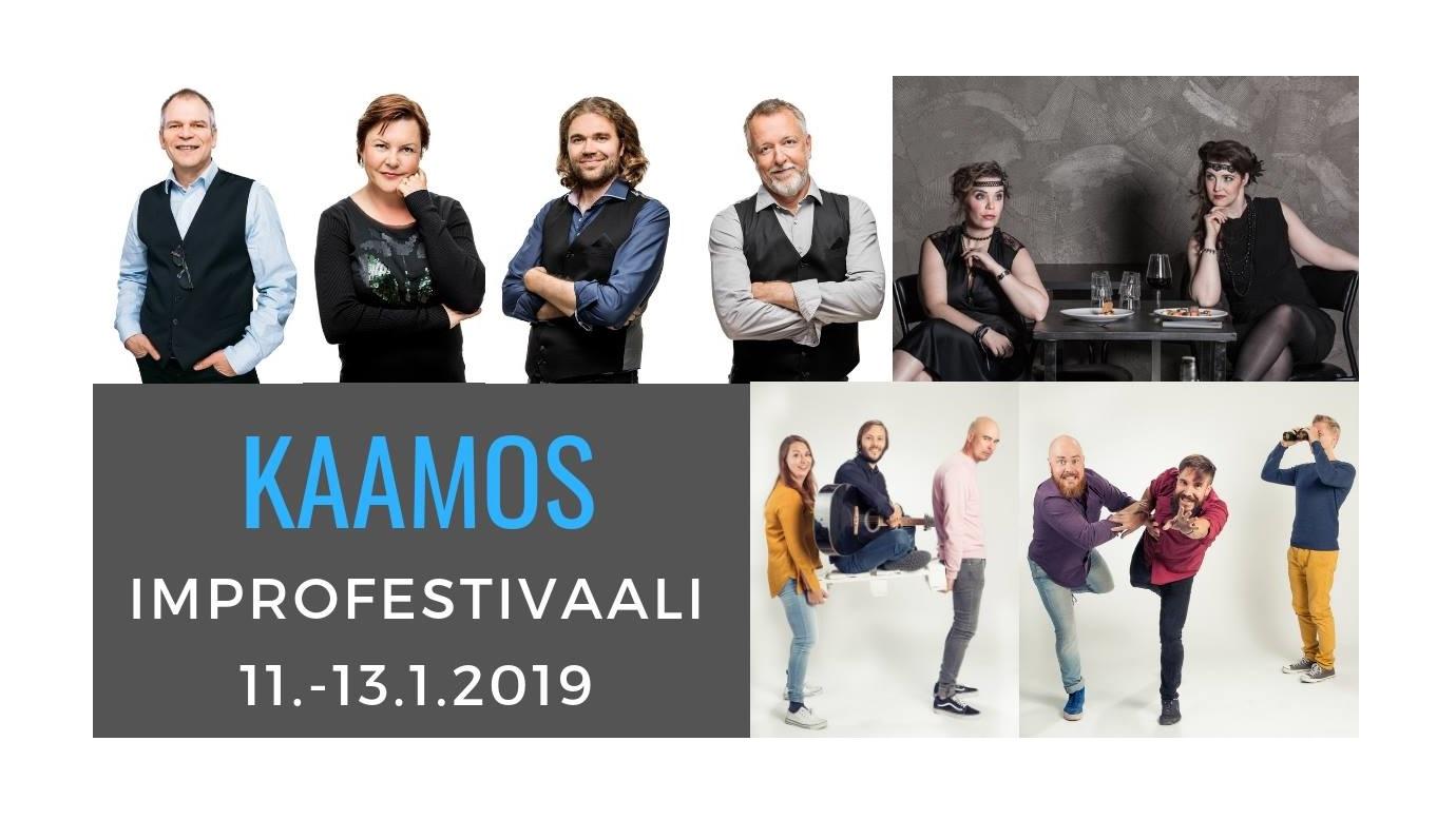 Improfestivaali Kaamos: Onko improvisaatioteatteri taidetta -paneelikeskustelu