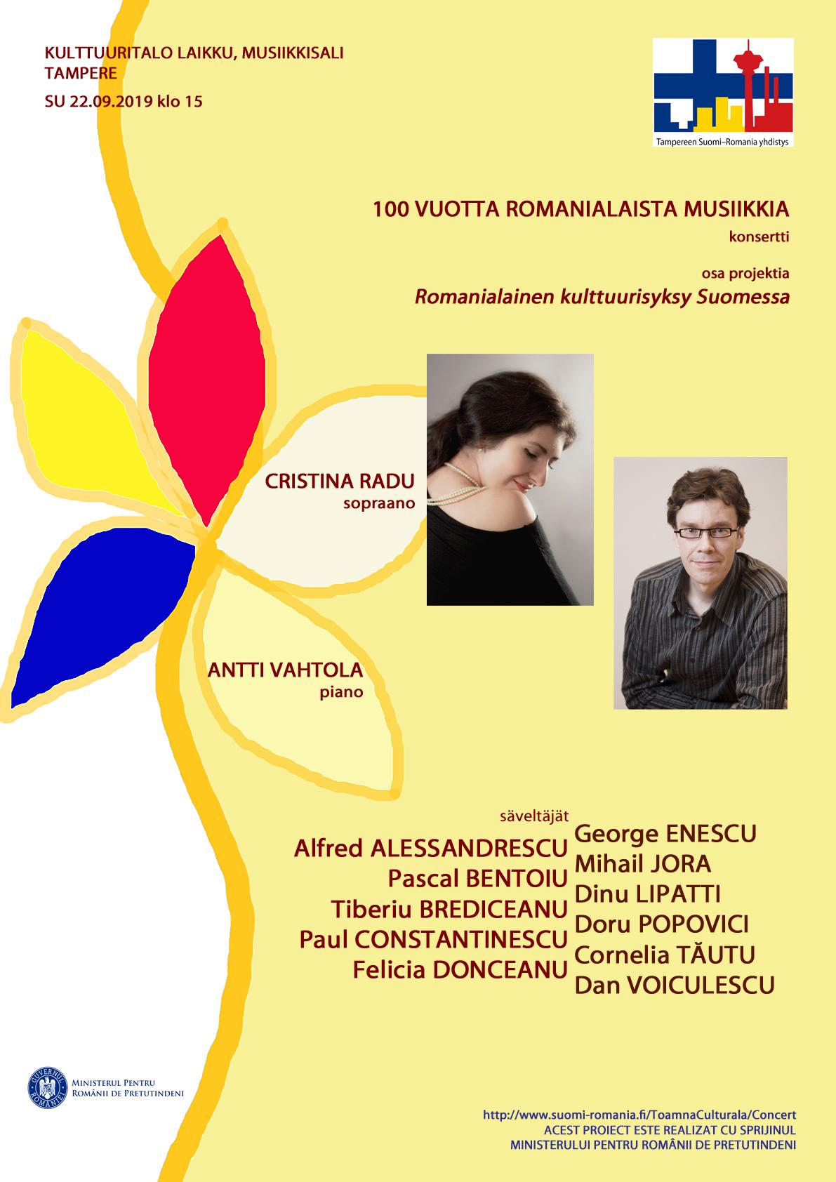 100 vuotta romanialaista musiikkia