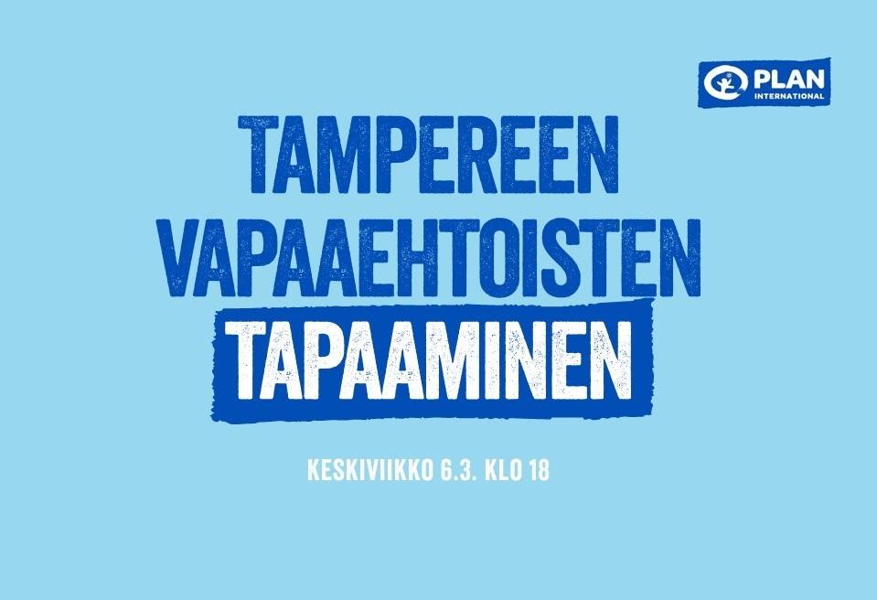 Plan Tampereen vapaaehtoisten tapaaminen