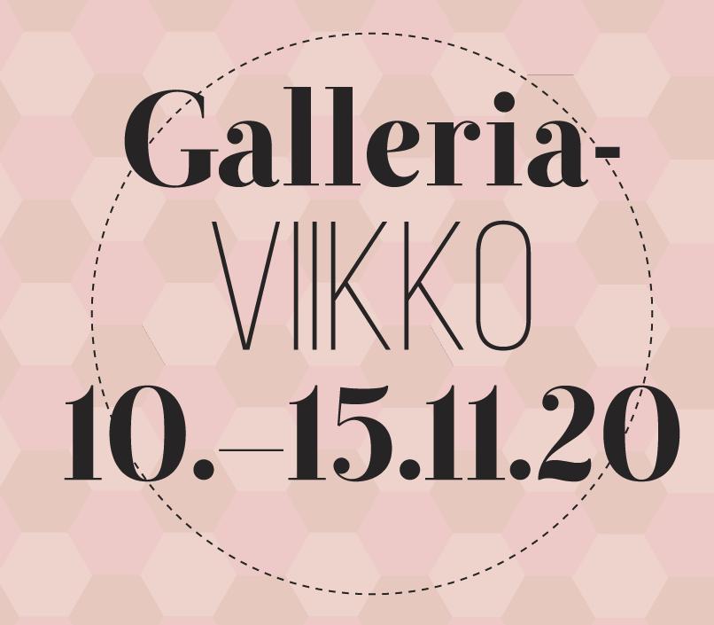 Tampereen Galleriaviikko 10.–15.11.2020