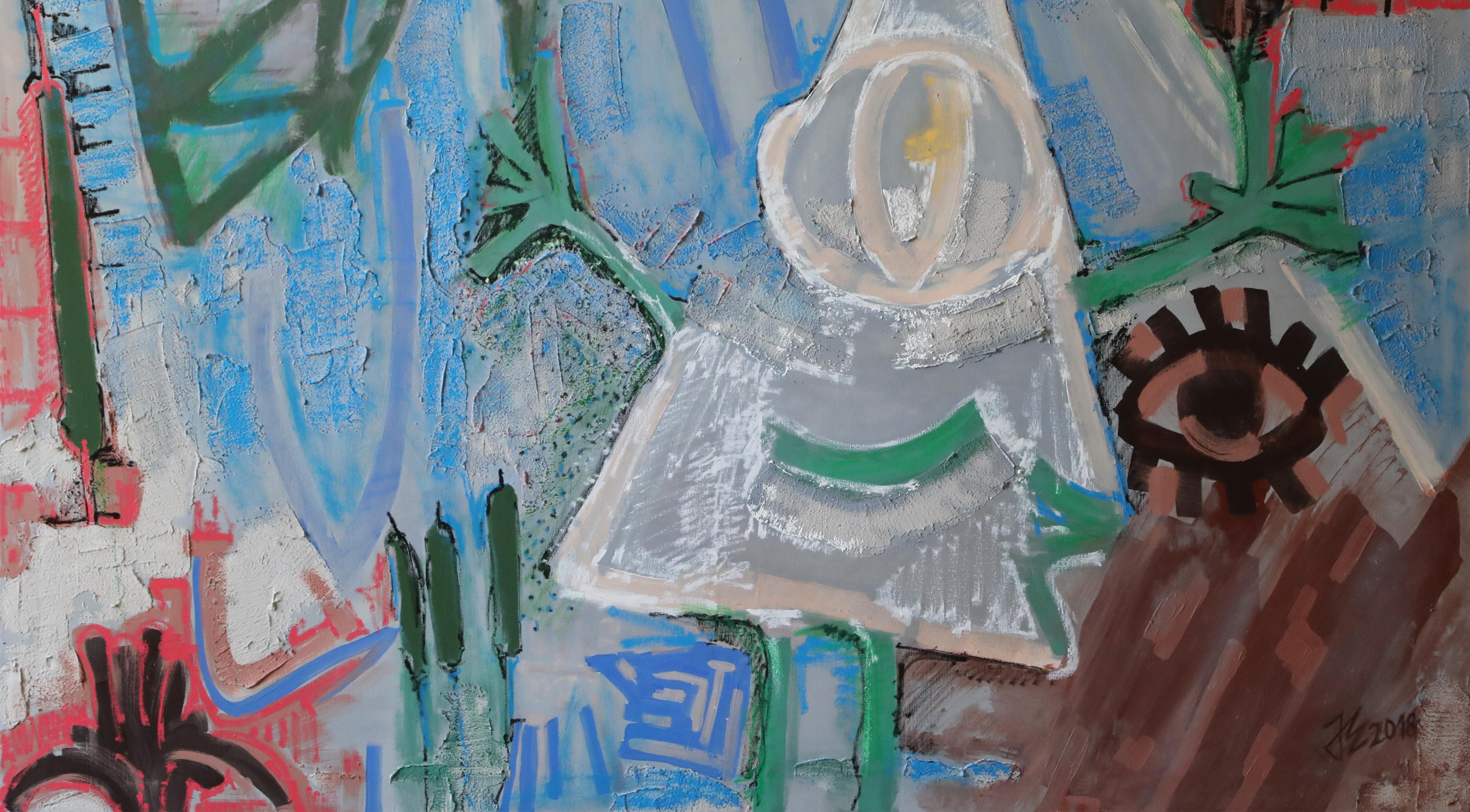 Abstraktio. Tarton Pallas-taidekorkeakoulun opettajien töitä.