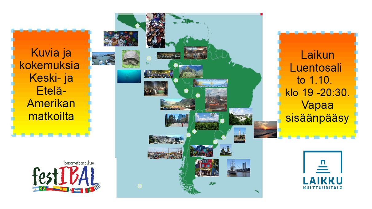 Matkaluento: Kuvia ja kokemuksia Keski- ja Etelä-Amerikan matkoilta