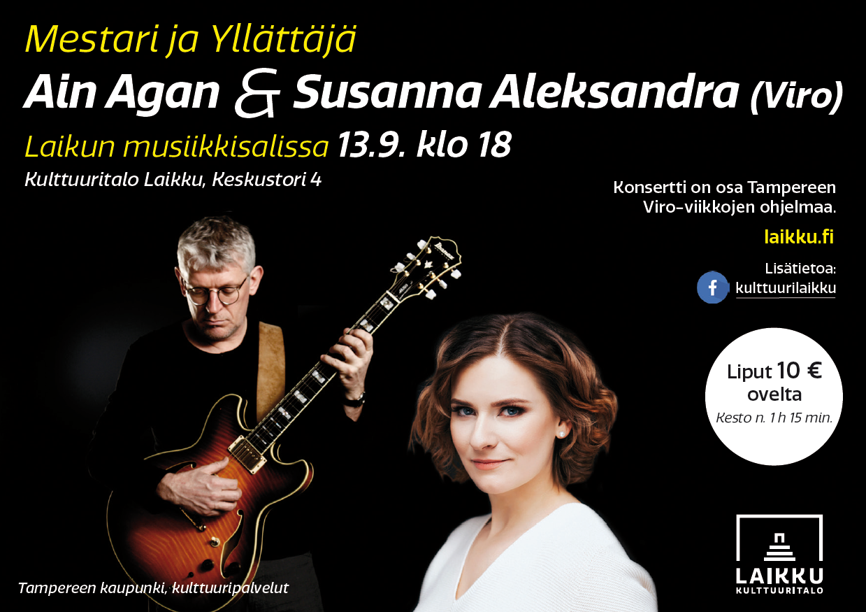 Ain Agan & Susanna Aleksandra