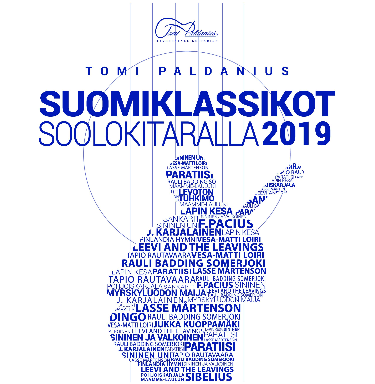 Suomiklassikot soolokitaralla - Tomi Paldanius