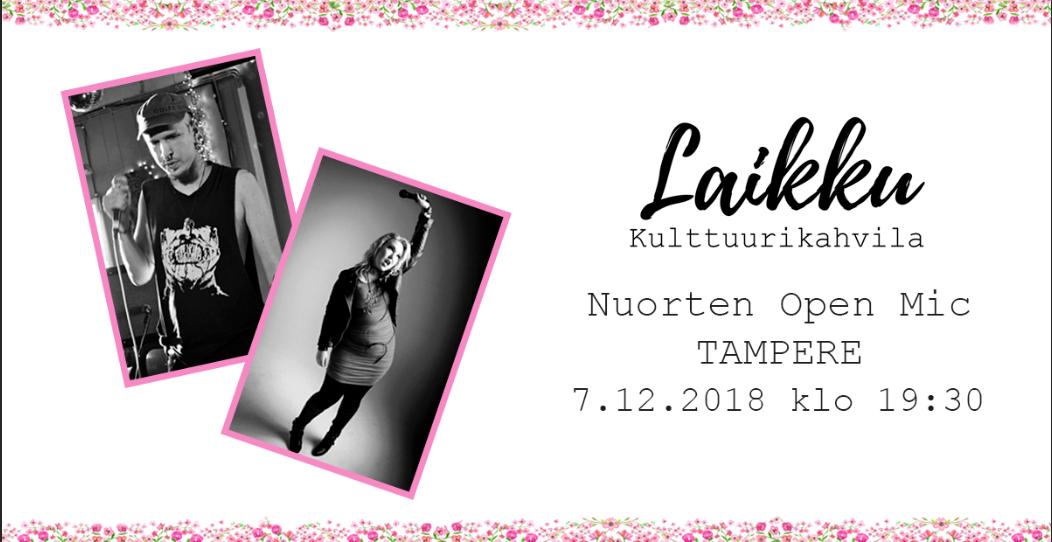 Nuorten Open Mic Tampere
