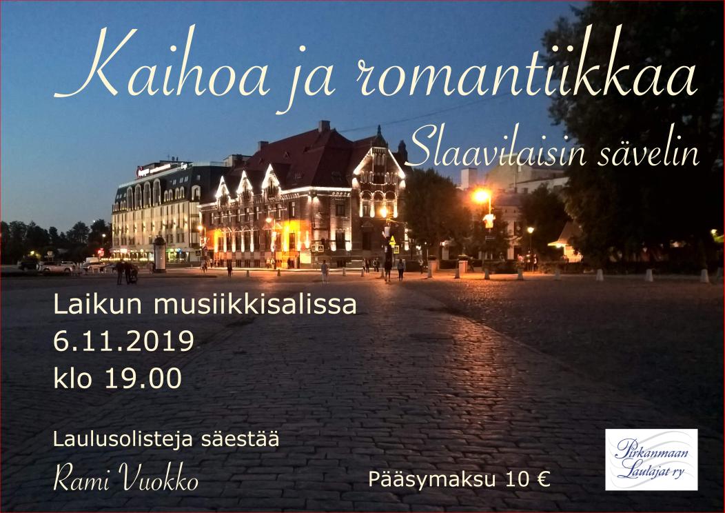 Kaihoa ja romantiikkaa slaavilaisin sävelin