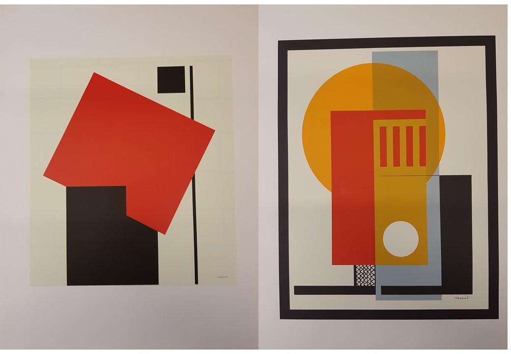 Unkarilaisen Lajos Kassákin grafiikkanäyttely