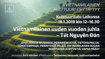 Vietnamese cultural event - Vietnamilainen kulttuuri esittäytyy