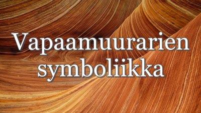 Olcott-loosin luento: Vapaamuurarien symboliikka - Seppo Heinola